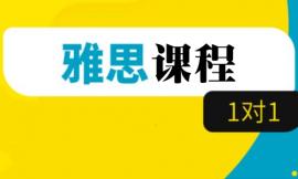 北京雅思课程一对一培训班